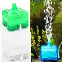 Aquarium Air Oxygen Pump Filter Driven Bio Shrimp Tank Sponge Box Fresh Filter