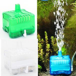 Aquarium Air Oxygen Pump Filter Driven Bio Shrimp Tank Sponge Box Filters n