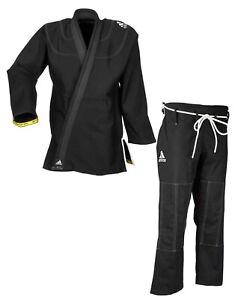 """adidas BJJ Anzug """"Challenge 2.0"""" - JJ350BK BJJ-Gi schwarz - Brazilian Jiu-Jitsu"""