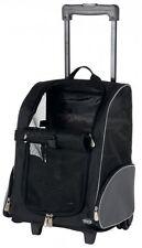 Trixie maleta con ruedas 36×50×27cm Negro/gris