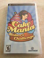 Cake Mania: Baker's Challenge (Sony PSP, 2008) PSP NEWCake Mania: Baker's Challe