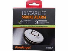 2x FireAngel ST750T Thermoptek Optical Smoke Alarm Fire 10 Year Life Toast Proof