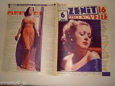 PATRICIA FARR=NORMA SHEARER=1937/6=Novelle Zenit=Cover magazine=