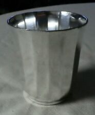 Vintage Christofle Silverplate Paneled Cup