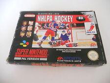 NHLPA Hockey 93 SUPER NINTENDO SNES PAL