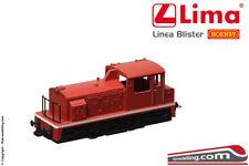 LIMA HL2301 - H0 1:87 - Locomotore diesel da manovra in livrea rossa - Linea Bli