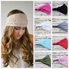 Fashion Women Lady Bandanas Turban Lace Hair Band Headwrap Wide Headband
