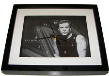 Jon Bon Jovi. High quality lithographic print and clock. Music memorabilia.