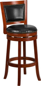 Flash Furniture Wooden Bar Stool in  brown 30 inch
