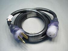 HTP 300517 10' Full KVA Adapter Cord f/ Miller Bobcat Trailblazer Engine Drive