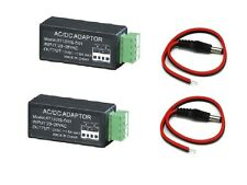 24VAC to 12VDC Convertor Adaptor and DC 2.1mm For CCTV Security Camera  System