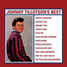 Johnny Tillotson - Johnny Tillotson's Best CD