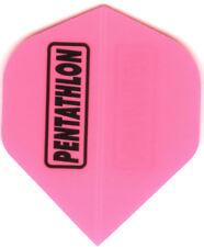 Pink PENTATHLON Dart Flights: 3 per set