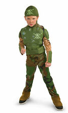 Child's Soldier Costume-Combat Marine,Army Military-Halloween Fantasy Sz Med-6-8
