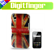 Samsung GALAXY ACE S5830 CUSTODIA Cover Rigida BANDIERA INGLESE British Flag