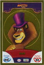 Vignette de collection autocollante CORA Madagascar 3 n° 73/90 - Alex