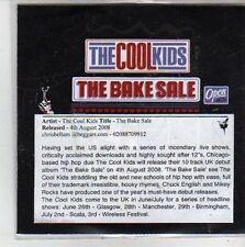 (CG446) The Cool Kids, The Bake Sale - 2008 DJ CD