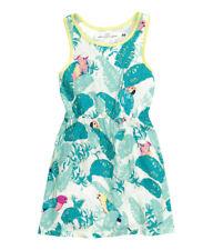 NEW 💦 H&M JUNGLE BIRD Cotton Dress Age 4-6 6-8 8-10 Yrs BNWT Next Season 💦