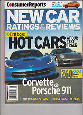 CONSUMER REPORTS NEW CAR RATINGS & REVIEWS 2014, 260 MODELS TESTED.