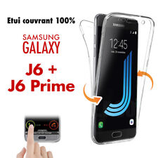 LOT 50 COQUES ETUIS HOUSSES 360 SILICONE INTEGRAL SAMSUNG J6+, J6 PRIME 2018