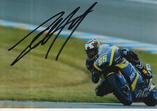 Louis Rossi mano firmado 7x5 Foto Tech 3 Moto 2 MotoGP 1.
