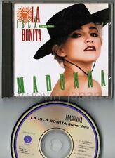 "MADONNA La Isla Bonita Super Mix JAPAN 5"" CD 1987 issue 28XD-713 w/PS Free S&H"