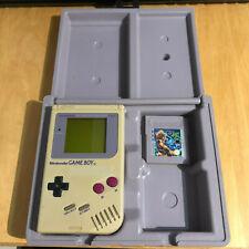 Nintendo Gameboy Original + Nuby Case + Game