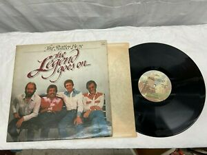 Vintage Statler Bros. - The Legend Goes On LP Record Album - 1982 VG + Free Ship