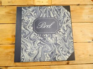 JACQUES BREL COFFRET BREL  7 LP 33T VINYLE EX COVER EX ORIGINAL 1974 NEAR MINT