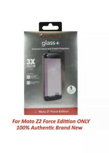 Original Zagg Invisible Shield Glass Screen For Moto Z2 Force Edition - New