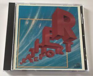 Weather Report (1982) Rare Original Columbia 1987 CD Album - MINT CONDITION