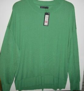 *M & S* Collection MEDIUM GREEN JUMPER / TOP Size XL BNWT FREE POST RRP £19.50