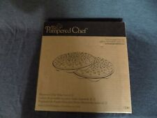 The Pampered Chef Microwave Chip Maker ~ Set Of 2 ~ #1241 ~ Brand New