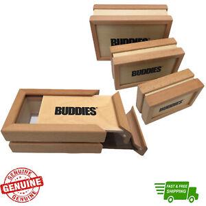 Buddies Sifter Pollen Wooden Box 3 part Magnetic Pollinator Stash Box Storage