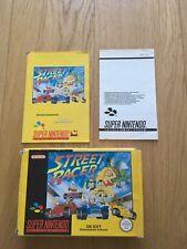 Street racer Super Nintendo SNES Pal Complet full