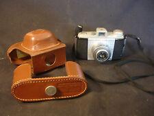 Kodak Pony 828 Flash 200 Shutter Camera Photography Brown Leather Case