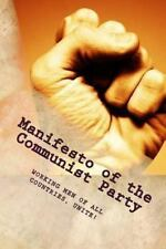 Manifesto of the Communist Party by Karl Marx (1888, Paperback)