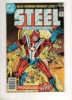 Steel, the Indestructible Man #1 1ST APP STEEL! VF- 7.5 1978, DC LEGENDS TV!