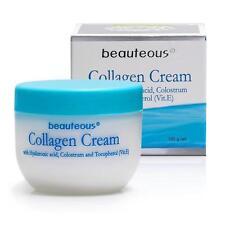 New Zealand Natural Collagen Cream w Hyaluronic Acid, Colostrum, Vitamin E 100g