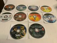 Microsoft XBOX Lot of 10 Tested Games Discs Only See Pictures for Titles