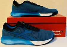 "Reebok Mens Nano 9 Crossfit Trainer Shoes Sz(9.5) DV6352 ""Cyan Blue"" NIB"