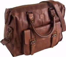 Leather Holdall Bags for Men