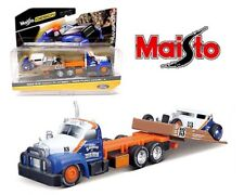 Maisto 1:64 Design Transport 1953 Mack B-61 Flatbed w/1929 Ford Model A 5055-21A