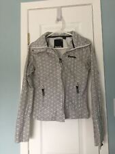 Bench BBQ Black & White Women's Jacket Size US Sml