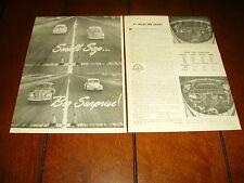 VOLKSWAGEN VW BEETLE BUG ***ORIGINAL 1960 ARTICLE***
