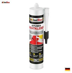 Bitumenkleber 310ml Dachdichtstoff Bitumen Dichtmasse Schindelkleber schwarz
