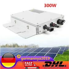 NEU 300W  kabellos Modul Wechselrichter Solar Micro PV Inverter WVC-300 DE