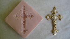 Edwardian Cross Silicone Mold for Cake Decorating, Chocolate, Fondant