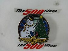 Indianapolis Motor Speedway Holiday Light Snowman Tree Pagoda Collector Pin