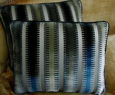 Scalamandre Silk Cut Velvet Fabric Custom Designer Throw Pillows Indianapolis 2